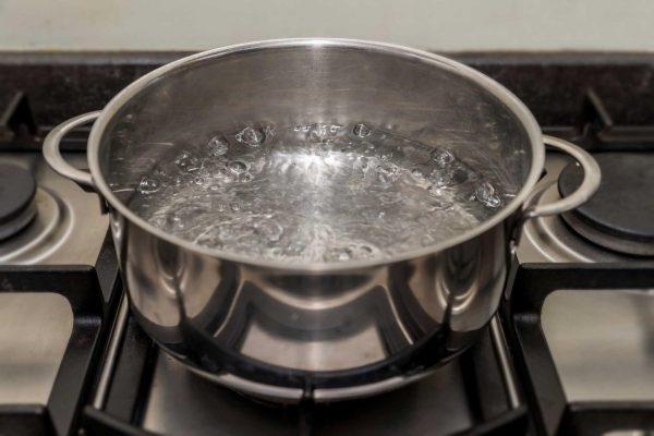 Закипающая вода