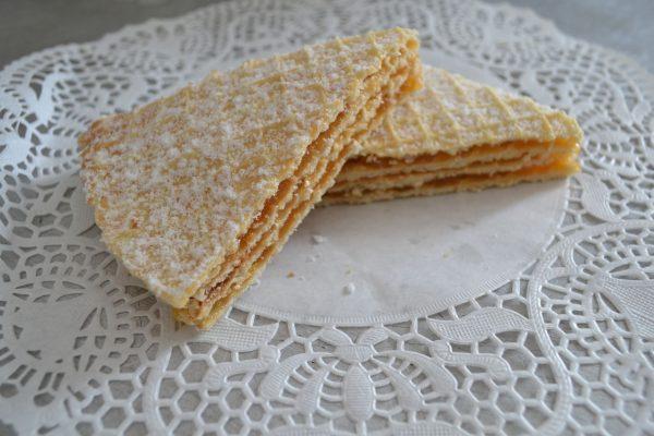 Вафельный торт