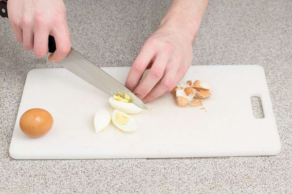 Нарезка яиц
