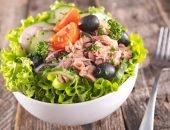 Классический салат с консервированным тунцом - яркое, вкусное и полезное блюдо