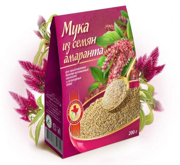Мука из семян амаранта