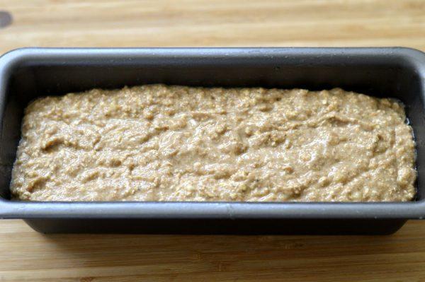 Тесто для хлеба в форме
