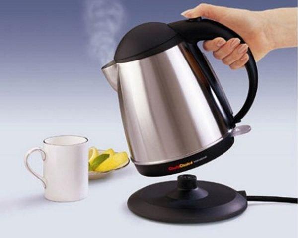 чайник с подставкой без жёсткой фиксации