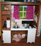 Был шкафчик, стала детская кухня