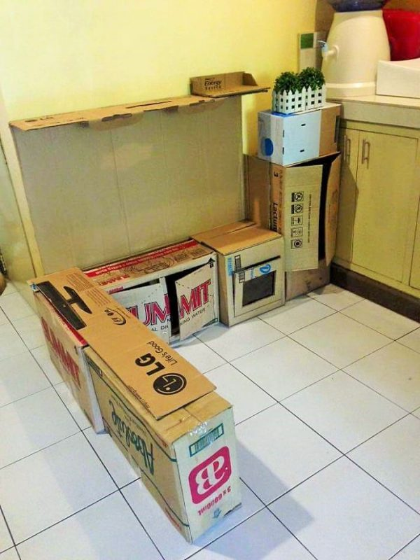 Коробки для строительства кухни