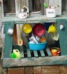 Детская кухня на даче