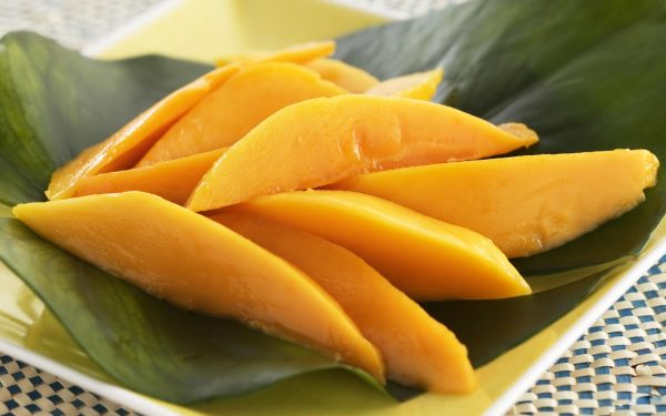 Дольки манго