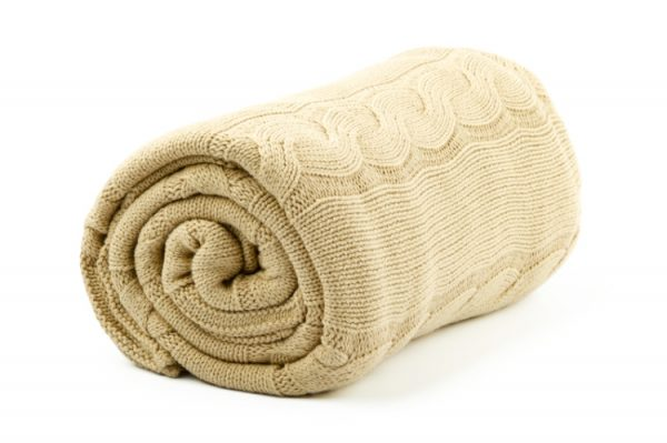 Свёрнутое одеяло