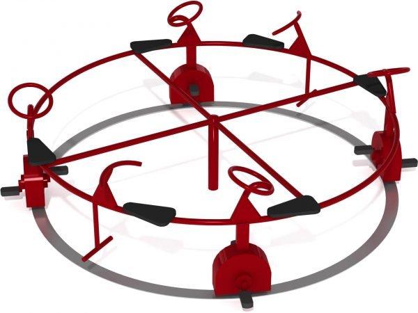 «Движение по круговой колее»