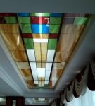 Витраж на потолке