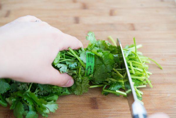 Подготовка зелени