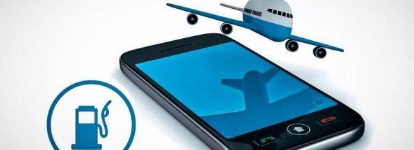 Телефон, самолёт, заправка