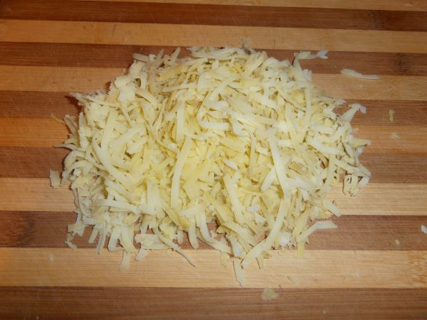 Тёртый отварной картофель