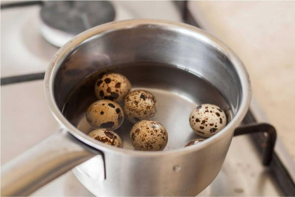 Варка перепелиных яиц