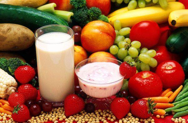 Продукты, из которых состоит рацион вегетарианцев