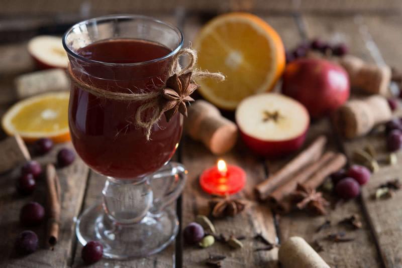 Безалкогольный глинтвейн в домашних условиях: пошаговые рецепты с фото