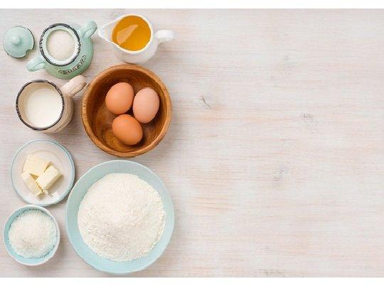 Мёд, мука, яйца, сахар, масло, сметана
