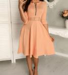 Платье с расклешённой юбкой