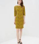 Платье из принтованной ткани