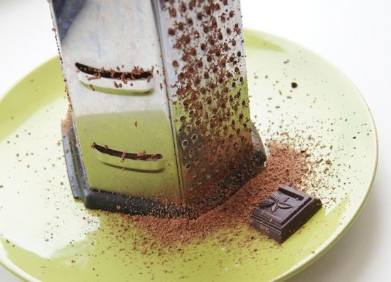 Тёртый шоколад