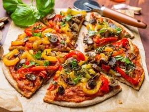 Пицца без добавления сыра