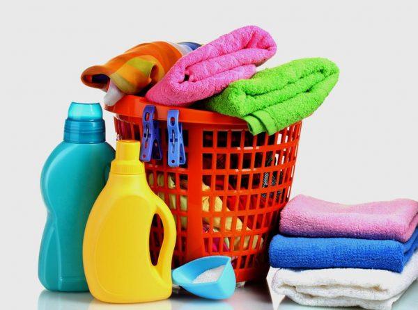 Полотенца и моющие средства