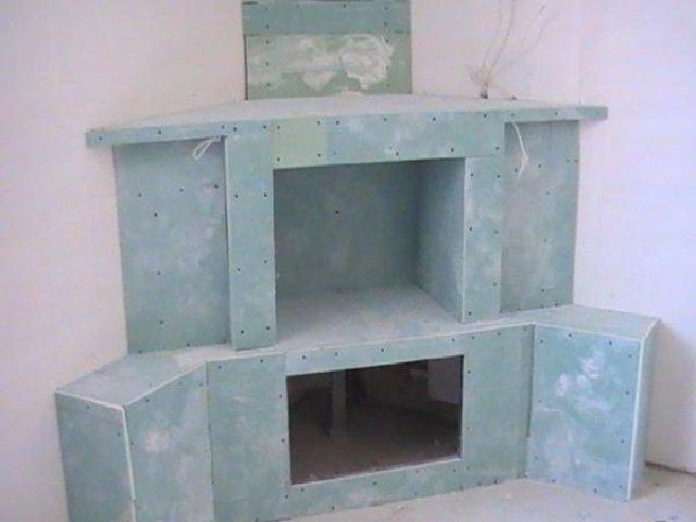 Фальш-камин своими руками: пошаговая инструкция