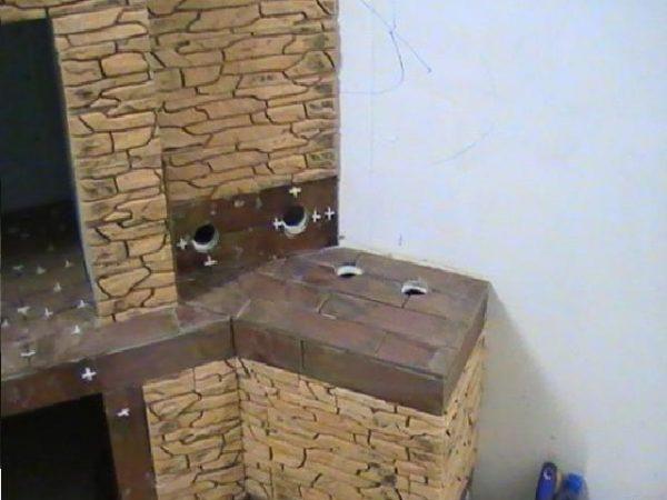 Фальш-камин из гипсокартона