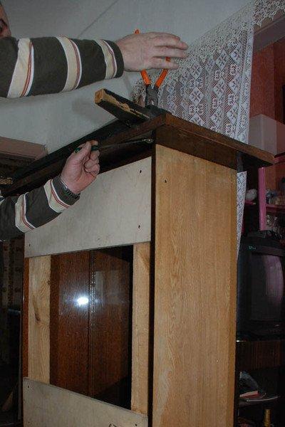 post_562150d897041 Фальшкамин своими руками (86 фото): чертеж имитации, пошаговая инструкция монтажа фальш-камина, как сделать декор из картона и пенопласта