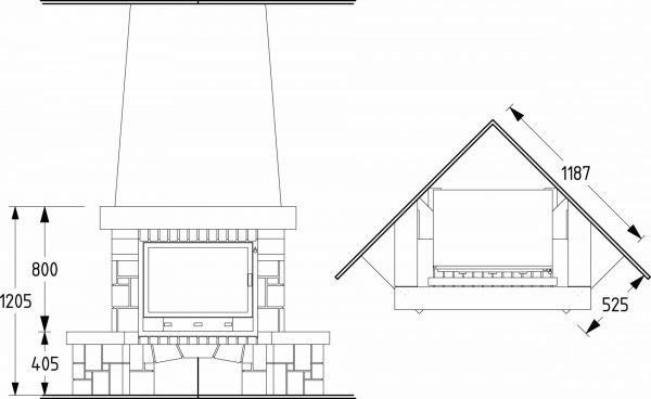 post_5621592a9553a-600x368 Фальшкамин своими руками (86 фото): чертеж имитации, пошаговая инструкция монтажа фальш-камина, как сделать декор из картона и пенопласта