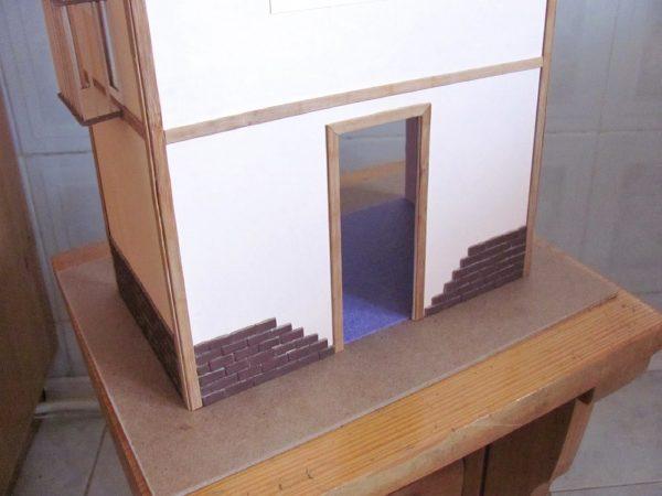 корпус домика на станине