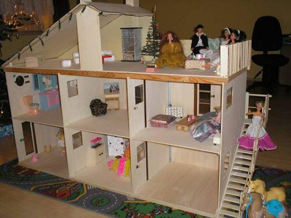 освещение в кукольном доме