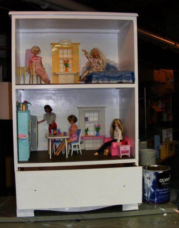 готовый дом для Барби