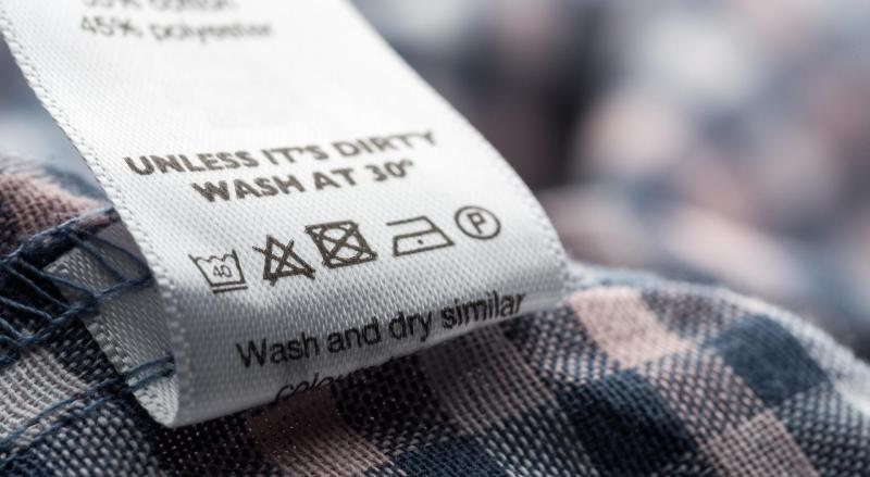 Расшифровка знаков для стирки на одежде