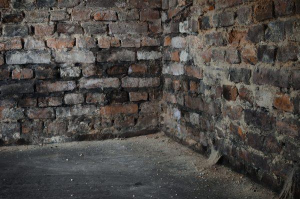 Сырые стены гаража