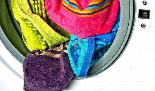 Полотенца в стиральной машине