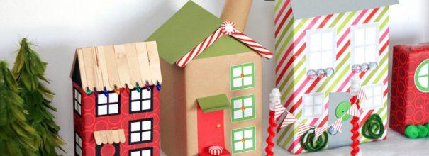 подарки-домики