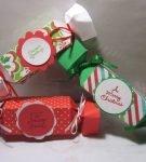коробки в форме конфеты
