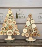 Деревянные ёлочки