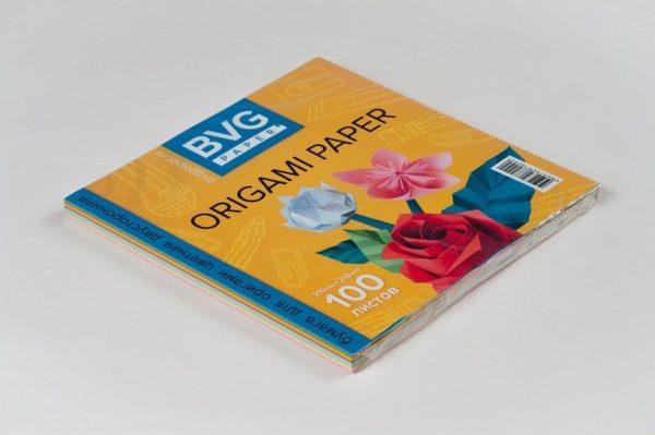 Набор цветной бумаги для оригами