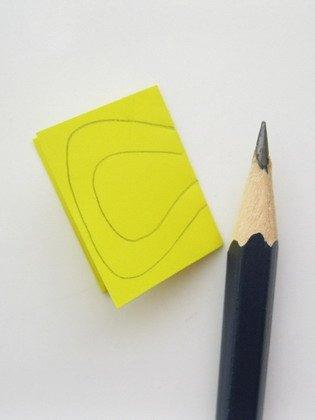 Гирлянда из бумаги: изготовление шаблона