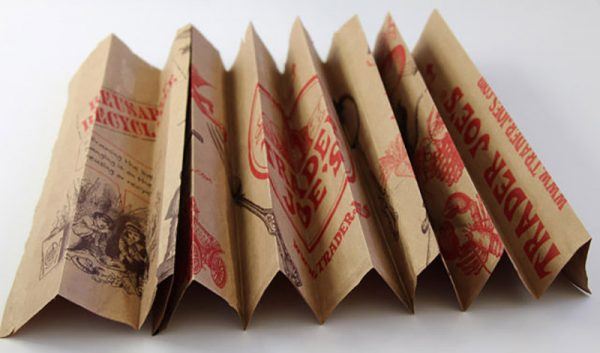 Гармошка из бумажных пакетов