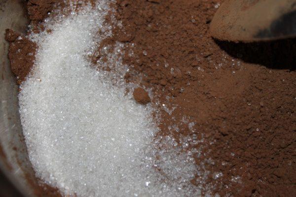 Какао-порошок с сахаром
