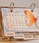 Объёмный календарь