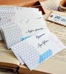 Оформление чековой книжки на желания: вариант 1