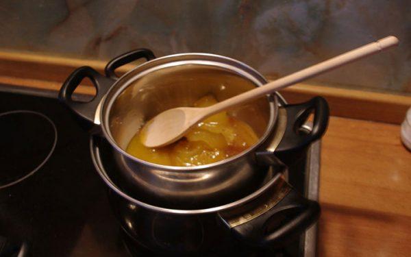 Мёд на водяной бане