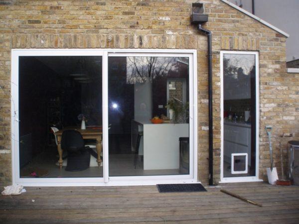 Сдвижные двери на террасу