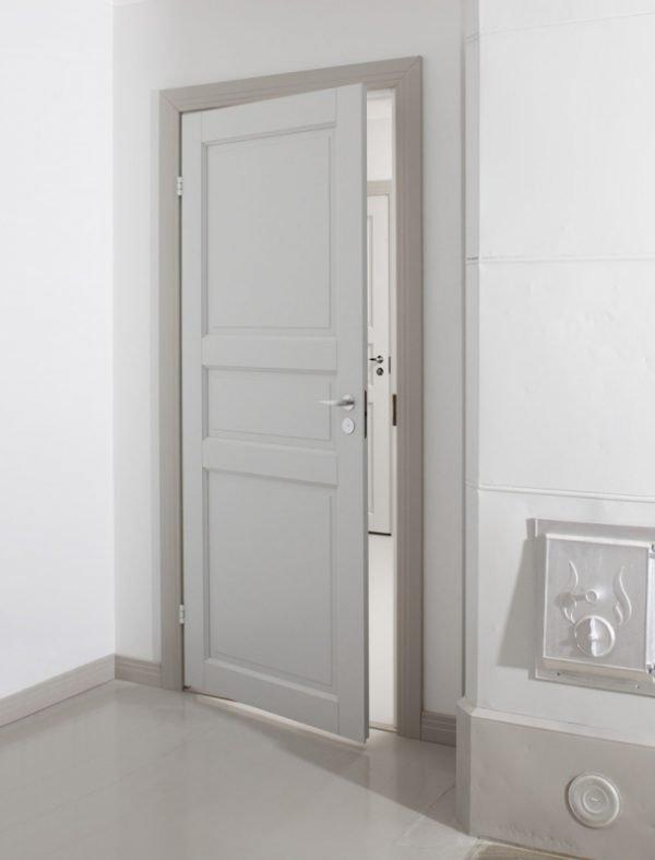 Пример глухой двери