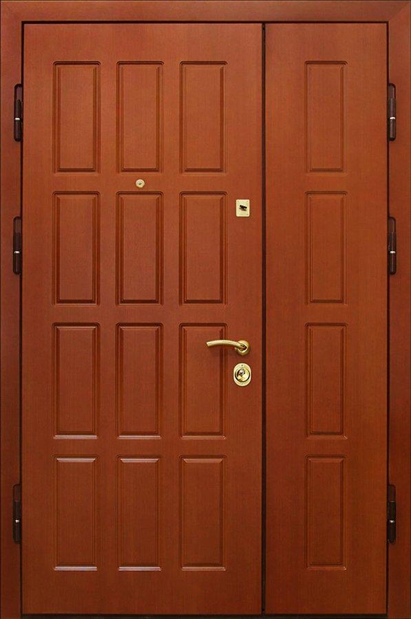Металлическая дверь с виниловой отделкой