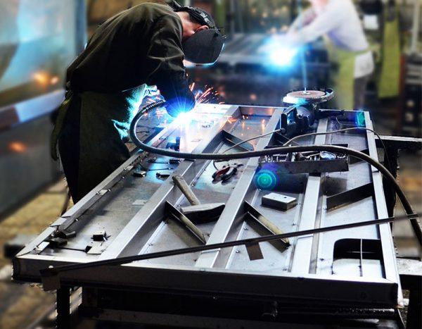 Фабрика производства металлических дверей